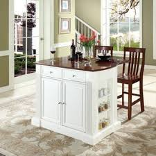 kitchen island with stools shop kitchen islands carts at lowes