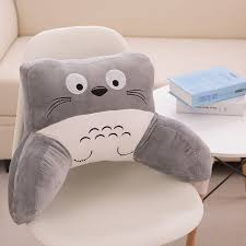 tv bed pillow watch tv pillow rest reading bed cotton seat cushion fashion cartoon