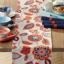 crate and barrel table runner crate barrel anju table runner natural linen linens and crates