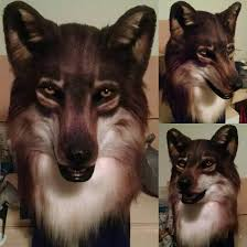 Wolf Mask Eurasian Wolf Mask April 2016 By Netherdenstudio On Deviantart