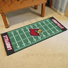 Area Rugs Louisville Houston Texans Football Field Runner Area Rug Mat By Fanmats 30