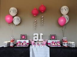 sweet 16 decorations 16th birthday party decorations 1 image of sweet 16 decorations