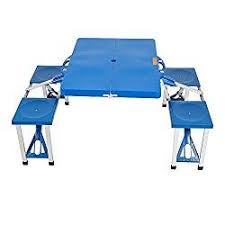 portable folding picnic table karmas product portable folding picnic table with 4 seats bench