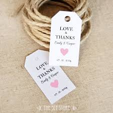 wedding thank you gift tags template imbusy for