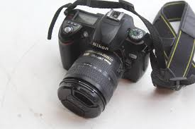 Memory Card Nikon D70 nikon d70 dslr in vantage bag property room