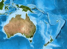 australia satellite map australia oceania satellite image giclee print enhanced physical