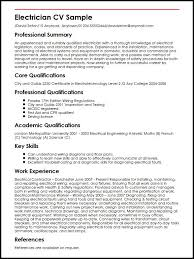 resume format for freshers electrical engg vacancy movie 2017 electrician cv sle myperfectcv