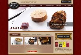 ideas and website design for a restaurant restaurant web design