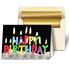 happy birthday candle greeting card happy birthday candle 3d lenticular lantor