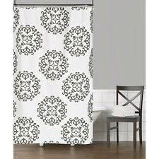 Geometric Burnout Shower Curtain Tan Geometric Traditional Shower Curtains Ebay
