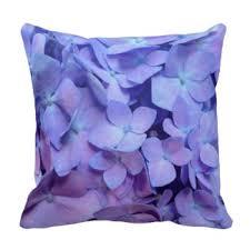 Purple Hydrangea Hydrangea Pillows Decorative U0026 Throw Pillows Zazzle