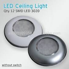 Low Profile Led Ceiling Light Rv 3 Led Interior Ceiling Light Cabin Light Without Switch
