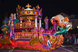 mardi gra floats universal orlando mardi gras parade king float getting sted