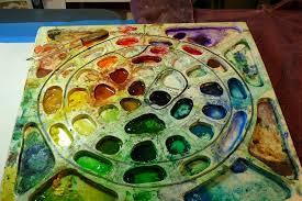 the custom painting palette heart longing studio i