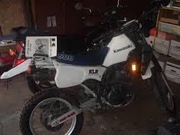 1985 kawasaki klr600 moto zombdrive com