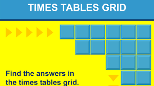 times tables grid