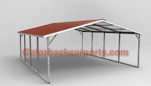 Car Port Roof Gatorback Carports U2013 The Difference Between The Horizontal Roof