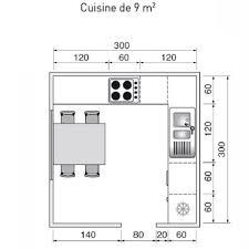 cuisine 9m2 avec ilot plan de cuisine de 9m2 9m2 plan de cuisine et maison