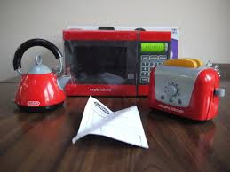 Red Kettle And Toaster Review U2013 Casdon Kitchen Set Morphy Richards Microwave Kettle And