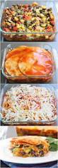 Roasted Vegetable Recipes by Stacked Vegetable Enchiladas Two Peas U0026 Their Pod