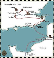 England On Map Lynn Marshall Final Project Lis 9723 William The Conqueror Where