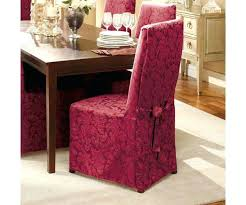 Sure Fit Dining Chair Slipcover Sure Fit Dining Chair Covers Crisp Cotton Pottery Barn