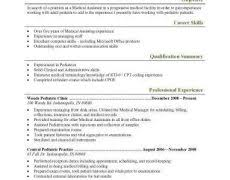 Medical Doctor Resume Example Medical Resumes 1 Doctor Resume Example Nardellidesign Com