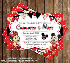 novel concept designs baby mickey u0026 minnie mouse baby shower