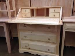 Unfinished Desk Drop Lid Desk Lam Brother U0027s Unfinished Furniture