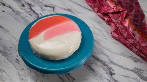 mirror glaze cake recipe tastemade