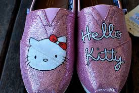 Wedding Shoes Toms Sparkly Hello Kitty Toms Wedding Shoes