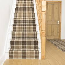 Beige Runner Rug Beige Stair Runner Rug Tartan Free Delivery Plus A No Quibble