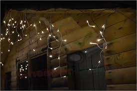 warm white led icicle lights beautiful 490 led 20m lumineo outdoor