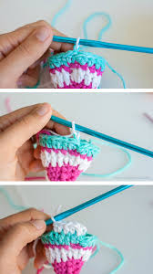 perfect crochet stripes without cutting yarn one dog woof