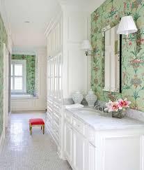 Wallpaper For Bathrooms Ideas White Bathroom Wallpaper Home Design Ideas