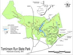 Run Map Tomlinson Run State Park Maplets