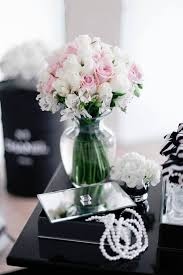 30th birthday flowers and balloons kara s party ideas chanel inspired 30th birthday party kara s