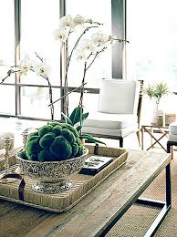 furniture orchid coffee table centerpiece strange how to make a vignette