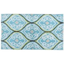 Damask Bath Rug Artisan Accents Damask Bath Rug Polyvore
