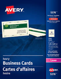 designs avery business card template 8371 not printing correctly