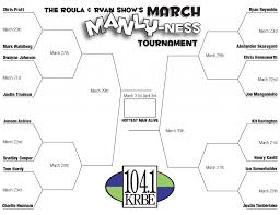 Pratt Map See Who Made Our March Manly Ness Sweet 16 104 1 U2013 Krbe Krbe Fm