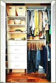 Apartment Therapy Closet Organization Small Shelving Organizers Best