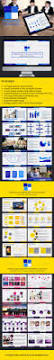 12 best flat powerpoint templates images on pinterest powerpoint