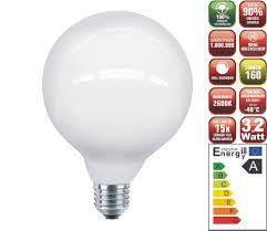 Wohnzimmer Lampe Energiesparlampe Top Led Globe Opal Lampe Birne 3 2w 80 Leds E27 Dimmbar Led