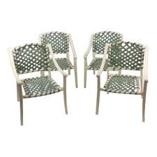 Green Patio Chairs Vintage Used Los Angeles Patio And Garden Furniture Chairish