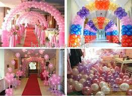 balloon arrangements for birthday christmas party balloon birthday balloons mixed color wedding