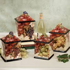 decorative kitchen canister sets wine decor kitchen accessories kitchen decor design ideas