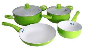 batterie de cuisine ceramique batterie de cuisine en céramique 6 pièces groupon