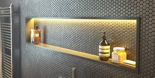 Corian Shower Shelf Corian Bathroom Shelves And Custom Made Corian Basins In London