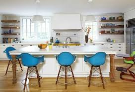 kitchen island chairs with backs stools for kitchen island coredesign interiors